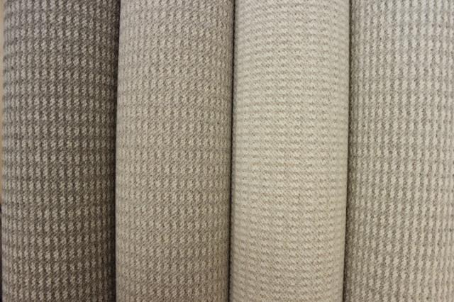 ウール カーペット 防音 LL-35 絨毯 じゅうたん 日本製 厚手 防炎 ウール100% 【品名 モントレー】 江戸間 6畳 261×352cm