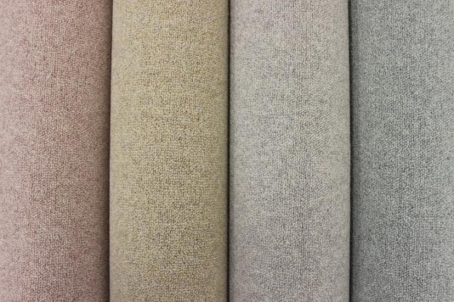 ウールカーペット 6帖 じゅうたん 絨毯  抗菌 防ダニ 防炎 ループ 【品名 ウールディオ】 江戸間 6畳 261×352cm