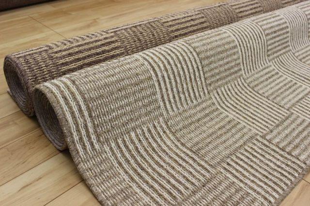 2畳 カーペット 抗菌 防臭カーペット じゅうたん 日本製  江戸間2畳 2帖 176×176cm 品名 チェックモア