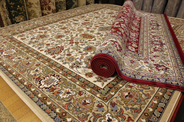 ベルギー製 ウィルトン織り 約35万ノット カーペット 絨毯 【カシュマール】 約3畳 200x250cm