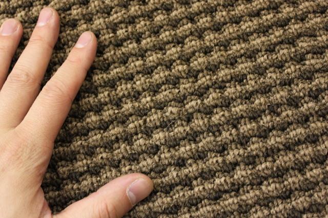 格安!高機能リップルループ廊下(ローカ)敷きカーペット/絨毯 【クロエ】 幅75×長さ250cm