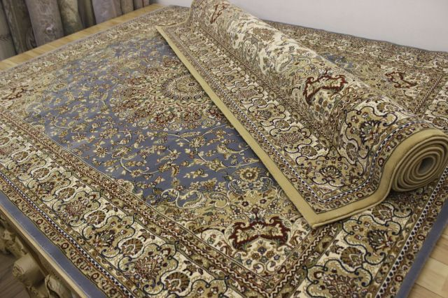 カーペット 絨毯 6畳 6帖 240x340cm トルコ製  ウィルトン織り アウトレット 75万ノット 品名 PALACE/6985  ≪特売品≫