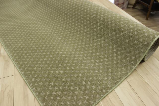 激安/スペシャルデザイン  カーペット ナイロン100% じゅうたん 絨毯 【品名 ホテル仕様/ナイロン】 江戸間 6畳 261×352cm