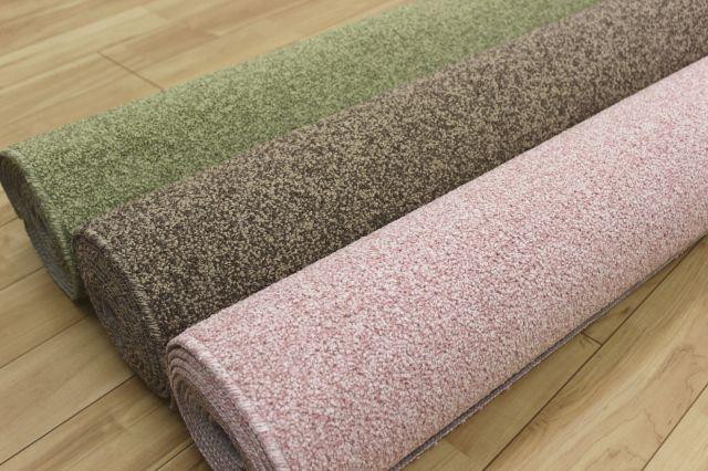 4.5畳 アウトレット 防音 はっ水 防ダニ 消臭 抗菌 カーペット 絨毯 じゅうたん 【品名 AT-100】 江戸間4.5畳 261×261cm