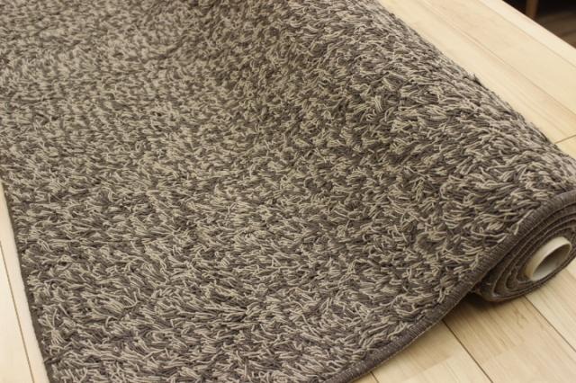 《在庫限り》 日本製 高級ウール シャギーシリーズ ラグ/カーペット 【品名 現品限り シャルム】 約1.5畳 140×200cm
