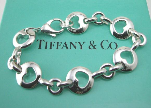new product 5d13f 2356d 【TIFFANY】ティファニー ピアスドハートブレスレット