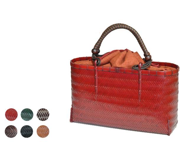 網代編みバッグ2L紐手 竹バッグ ハンドバッグ 通販