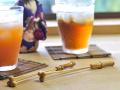 マドラー、竹製品、チェリーマドラーカート