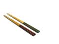 お弁当用すべらない箸ダイヤカット 18.5cm 竹箸