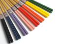 竹箸色彩 8色 お箸 竹箸 すべらない箸 名入れ可能