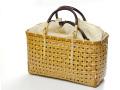 四ツ目編み 竹かごバッグ 交色 かごバッグ 通販