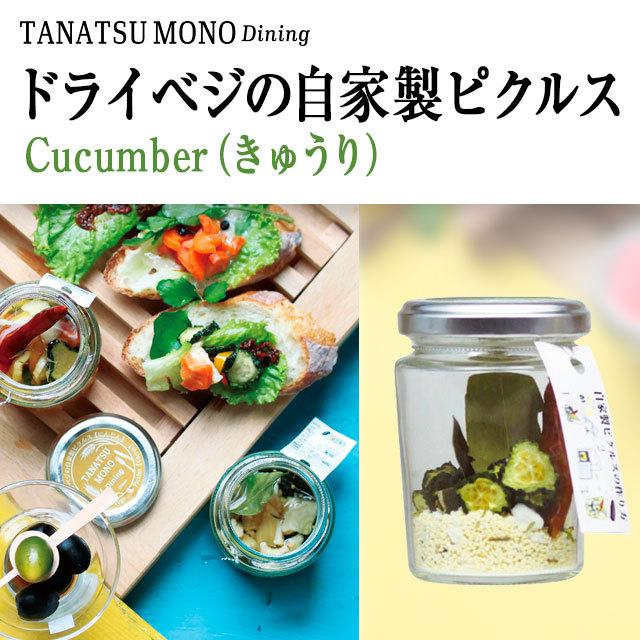 ドライベジの自家製ピクルス cucumber(きゅうり)