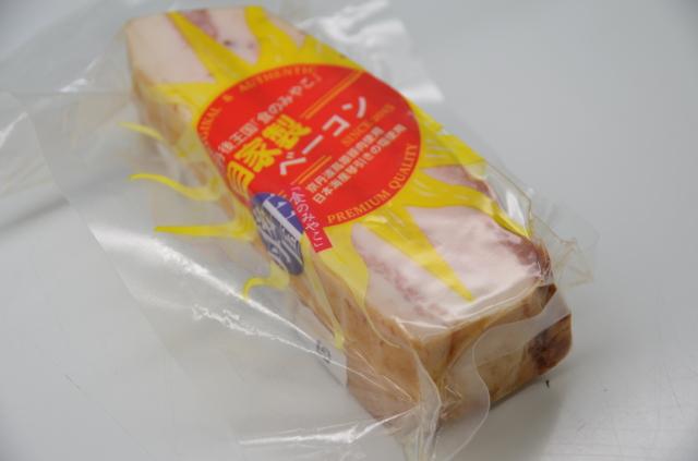 京都のブランド豚肉使用 道の駅丹後王国「食のみやこ」自家製ベーコン(200g)