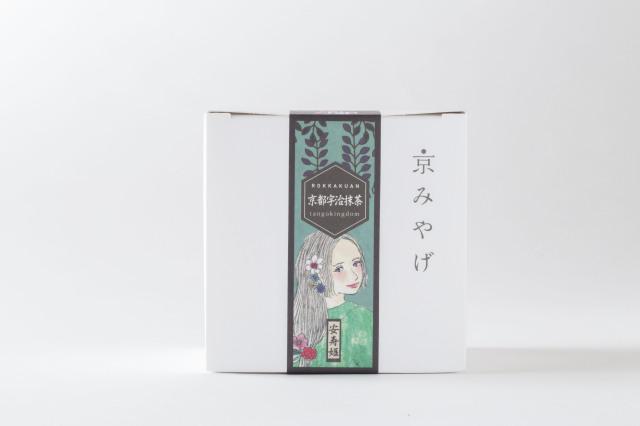 ラスクのような軽さと香ばしさが特徴の京都土産。丹後七姫が各味を彩るからめる焼き 【抹茶味】