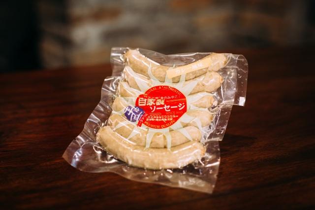 京都のブランド豚肉使用 自家製ソーセージ【カレー風味】 (6本)180g 丹後クラフトビールとの相性も◎