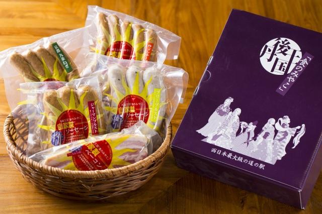 京都のブランド豚肉使用 自家製ソーセージ.ベーコン【5袋セット】【贈答用】 丹後クラフトビールとの相性も◎
