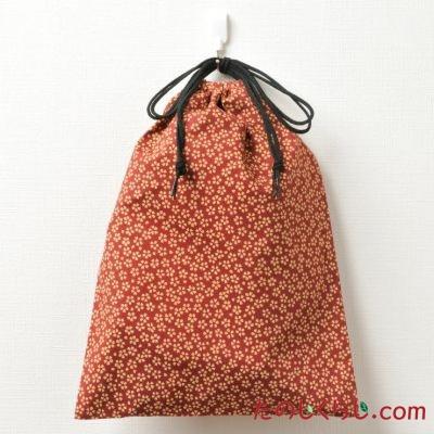 和柄巾着袋 桜柄