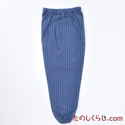 純綿かつお縞もんぺ 女性用 日本製
