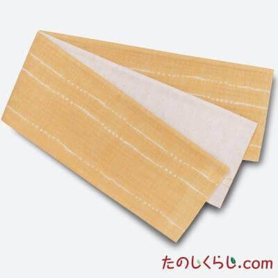 【送料無料】桐生織 リバーシブルゆかた帯 雨だれ 日本製