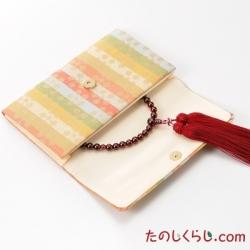 念珠袋 名物裂(二つ折り型)