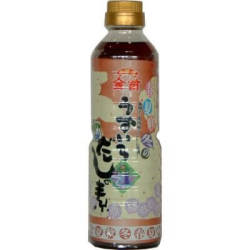 金笛 春夏秋冬 うすいろ だしの素 500ml 本醸造うすくち醤油をベースにした 京風 だし