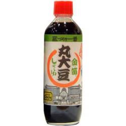 金笛 丸大豆しょうゆ 600ml 蔵づくり一番 有機丸大豆使用 醤油