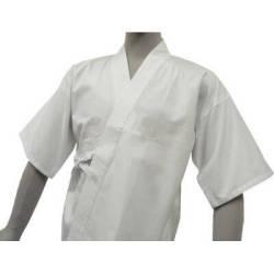 綿天竺作務衣肌着 男性用 日本製
