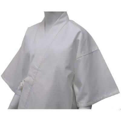 【送料無料】綿ネル作務衣肌着 男性用 日本製