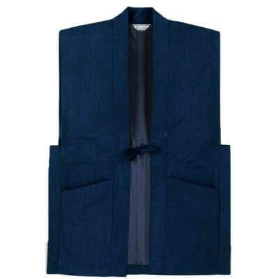 【送料無料】正絹紬羽織 男性用 日本製