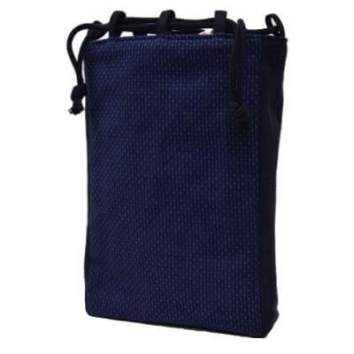 刺子織信玄袋 日本製