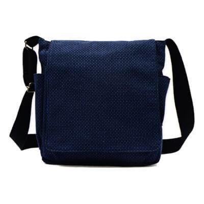 【送料無料】刺子織ショルダーバッグ 日本製