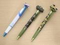 マスコット付きボールペン(ブルーインパルス・10式戦車・オスプレイ)