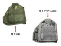 肩用ペンホルダー3(陸自迷彩・空自デジタル迷彩)