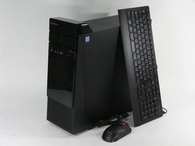 【再生品】Lenovo S510 Mini-Tower /Win 10 /Core i5-6400 /128GB+500GB 8GB 無線LAN