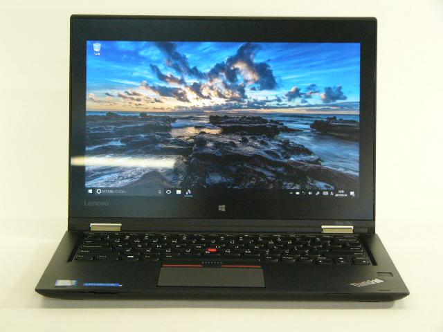 【再生品】ThinkPad Yoga 260 USキー /Win 10 Pro /Core i5-6200U /256GB 8GB IPS タッチ+ペン