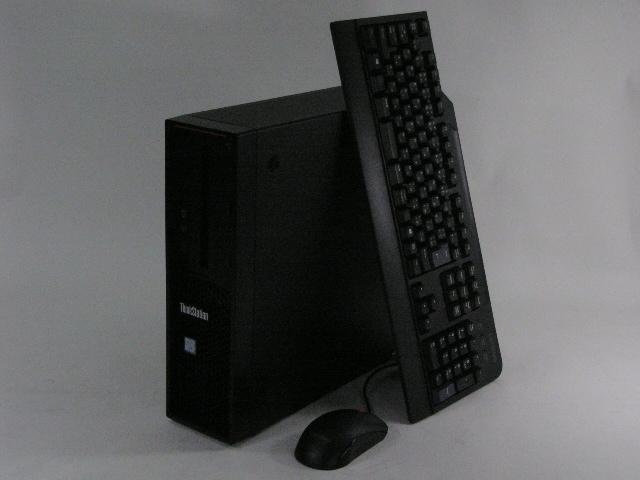 【再生品】ThinkStation P310 SFF /Win 10 Pro /Xeon /256GB+1TBx2 32GB K620