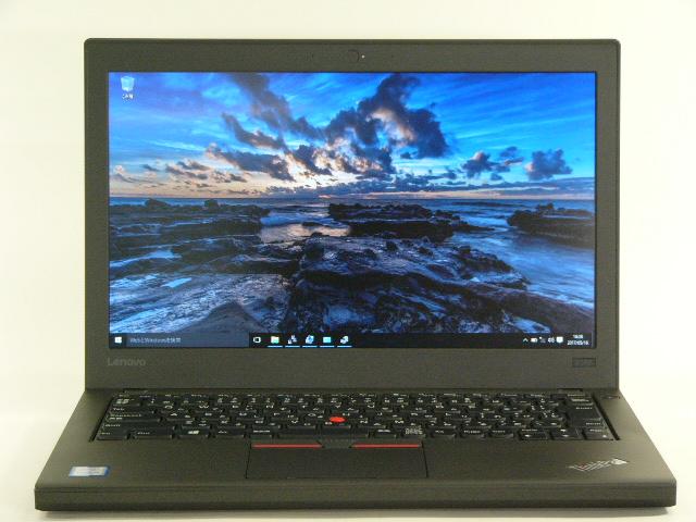 【再生品】ThinkPad X260 /Win 10 /Core i5-6200U /500GB 8GB