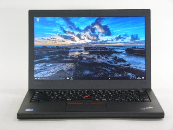 【再生品】ThinkPad X260 /Win 10 Pro /Core i5-6200U /256GB 8GB FHD