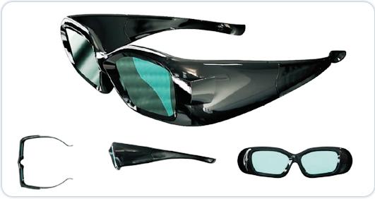 DLPリンク対応 3Dメガネ