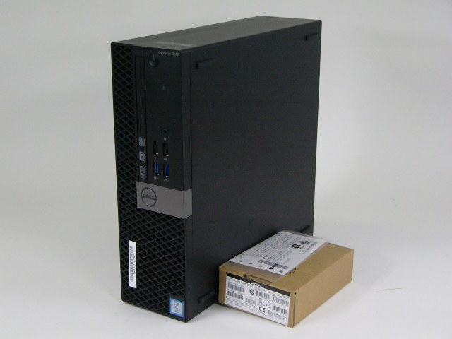 美品 DELL OPTIPLEX 7040 SFF /Windows 10 Pro /Core i7-6700 /500GB 16GB + マウス