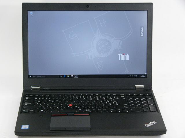 【再生品】ThinkPad P50 /Win 10 Pro /Core i7 /256GB 16GB FHD