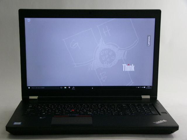 【再生品】ThinkPad P70 /Win 10 Pro /Core i7-6820HQ /256GB+500GB 16GB 4K M600M