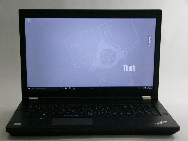 【再生品】ThinkPad P70 /Win 10 Pro /Core i7-6820HQ /256GB+500GB 16GB 4K M600M
