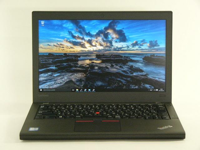【再生品】ThinkPad X260 /Win 10 /Core i7-6500U /256GB 16GB FHD 6セル