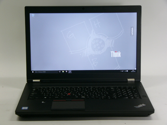 【再生品】ThinkPad P70 /Win 10 Pro /Xeon E3 /512GBx2+1TB 64GB 4K