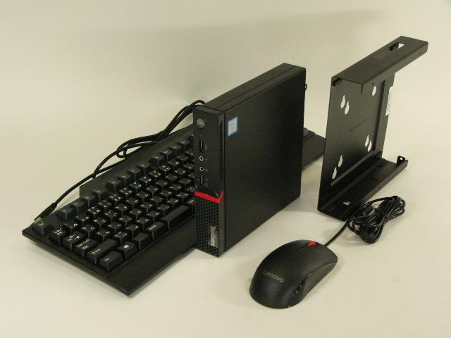 【再生品】ThinkCentre M700 Tiny /Win 10 Pro /Core i5-6400T /256GB 8GB VESAマウント