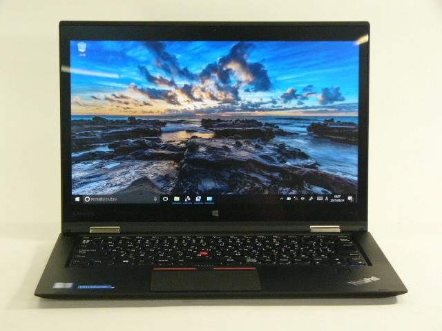 【再生品】ThinkPad X1 Yoga /Win 10 Pro /Core i7-6600U /512GB 16GB WQHD タッチ+ペン