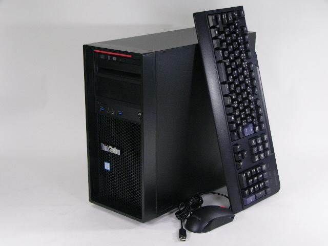 【再生品】ThinkStation P310 Tower /Win 10 Pro /Xeon /256GB 32GB K2200
