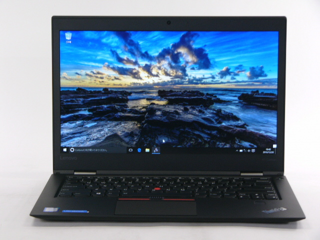 【再生品】ThinkPad X1 Carbon USキー /Win 10 Pro /Core i7-6600U /256GB 16GB FHD