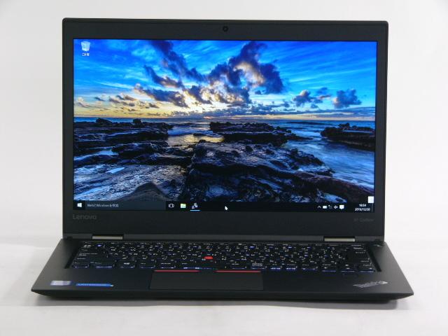 【再生品】ThinkPad X1 Carbon /Win 10 /Core i5-6200U /256GB 8GB FHD シミ